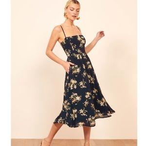 Reformation Rosehip Midi Dress  Yolanda US6 New